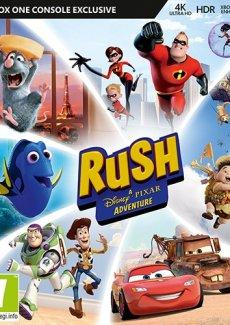 Rush A Disney Pixar Adventure